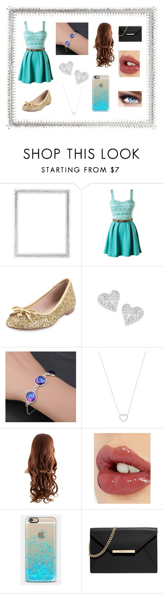 """""""Maddie's creation"""" by abbymcwherter ❤ liked on Polyvore featuring Lane Crawford, Kate Spade, Vivienne Westwood, Tiffany & Co., Charlotte Tilbury, Casetify, MICHAEL Michael Kors, Maybelline, women's clothing and women's fashion"""