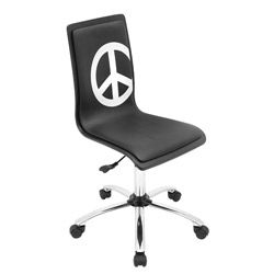 @Overstock.com - Peace Printed 360-degree Swivel Office Chair - Furnish your office while making a statement with this printed office swivel chair. The office chairs are printed with a peace symbol that can be seen whenever the chair is empty, making a quiet statement of belief to those around you.   http://www.overstock.com/Home-Garden/Peace-Printed-360-degree-Swivel-Office-Chair/7109264/product.html?CID=214117 $77.55