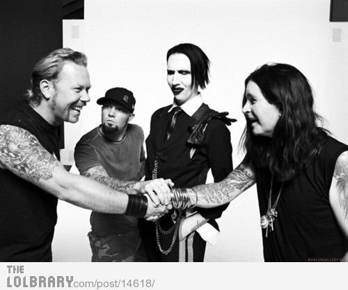 James, Fred, Marilyn, and Ozzy ♥