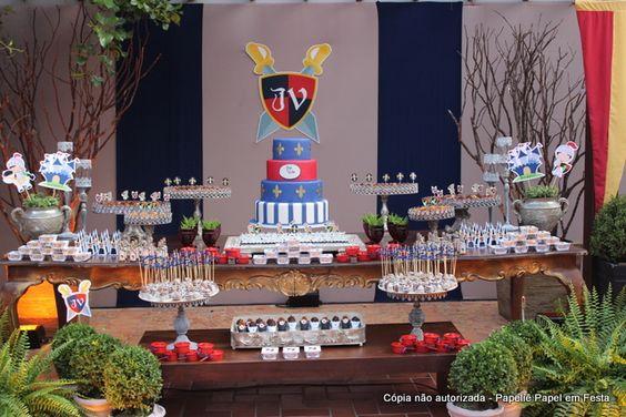 Papeliê - Papel em Festa (Blog): Festa do Cavaleiro Medieval