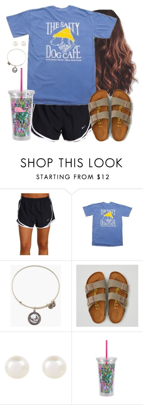 """"""""""" by aweaver-2 ❤ liked on Polyvore featuring NIKE, Alex and Ani, American Eagle Outfitters, Accessorize, Lilly Pulitzer and Vineyard Vines"""
