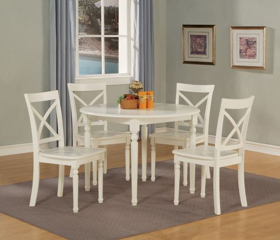 RC Willey - Crown Mark 5-Piece Dining Set Decadent Dining - kleiner tisch küche