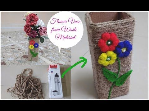 Best Out Of Waste Ideas Flower Have Cardboard Craft Ideas Vase
