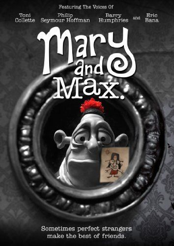 one of my FAVE #Claymation! Mary and Max! ♥☺