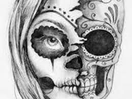 Santa muerte and search on pinterest - Santa muerte tatouage signification ...