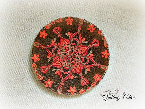 Quilling by Ada: Plates