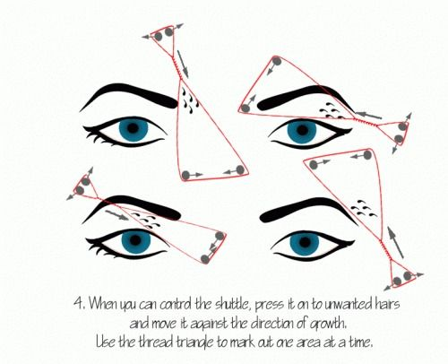Ingenious Way How To Shape Your Eyebrows Like A Boss With Thread In 5 Minutes Or Less