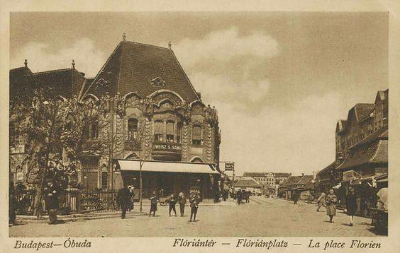 Flórián tér a XIX.század végén.