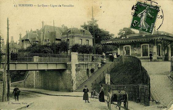 Suresnes - Seine puis Haut de Seine
