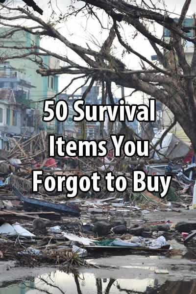 50 Survival Items You Forgot To Buy | Urban Survival Site || this could save your life one day!