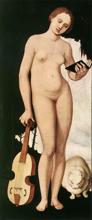 Music (1529). Hans Baldung, called Grien, (1484-1545). Renaissance (Northern). Allegory. Oil on wood. Alte Pinakothek, Munich.: