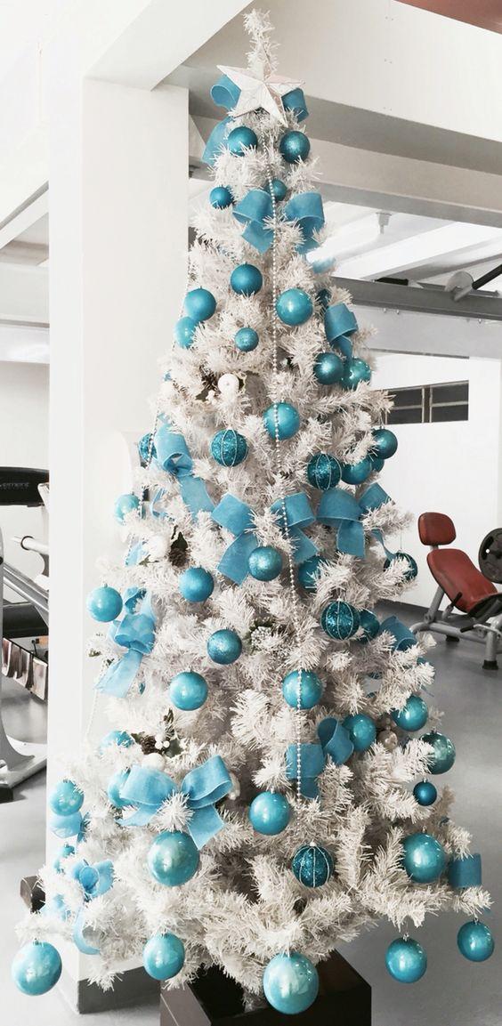 Árvore azul!