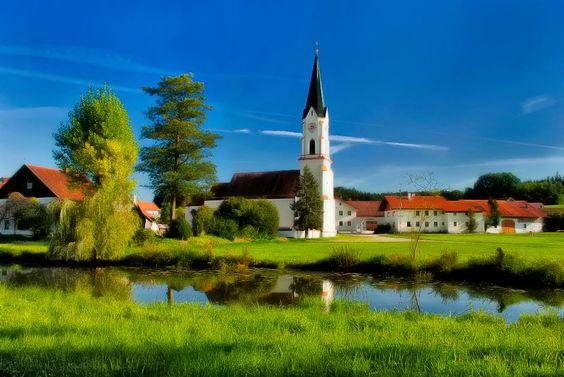 In der Nähe von Geisenhausen, Niederbayern