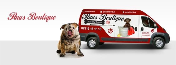 Paws Boutique Mobile dog grooming Birmingham/ Worcestershire  07916161616