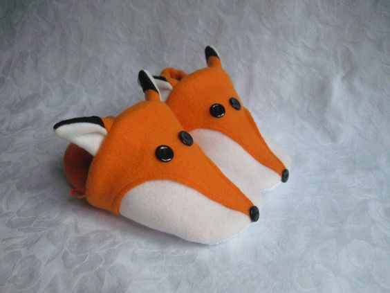 Fox Slippers