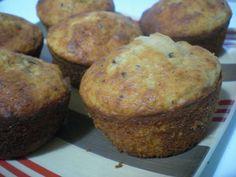 Muffins de banana fáciles