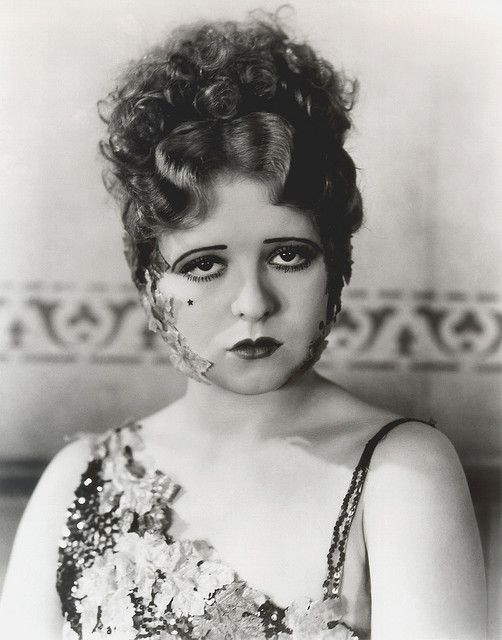Clara Bow. by carbonated, via Flickr