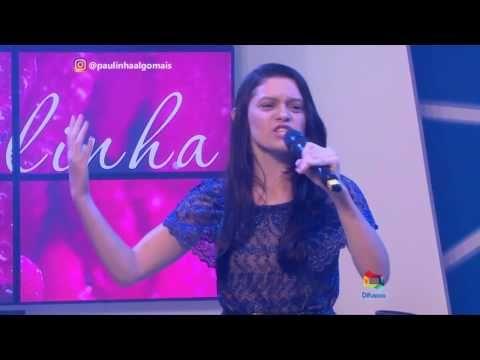 Mara Souza No Algo Mais Com Paulinha Lobao Sbt Difusora Youtube