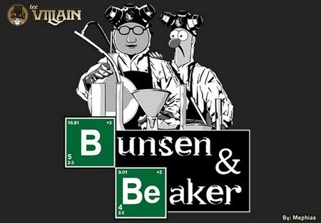 An awesome Breaking Bad inspired tee