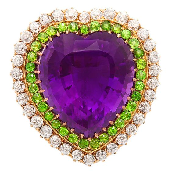 1stdibs - British+Suffragette+Colors+Multi-Gem+Brooch+and+Pendant explore items from 1,700+ global dealers at 1stdibs.com: