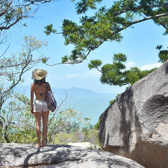 Start your day with a smile and finish it with a glass of wine. Happy weekend everyone  @tropicalnorthqueensland @queensland @australia  #pinetree #ocean #greatbarrierreef #islandlife #magneticisland #travellinghappiness #wanderlust #exploretnq #amazing_australia #travlr #cliff #stones #enjoyingtheview #travelling #explore  #happyday #photooftheday by travelling_happiness http://ift.tt/1UokkV2