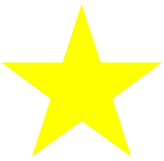 Clever image regarding printable yellow stars