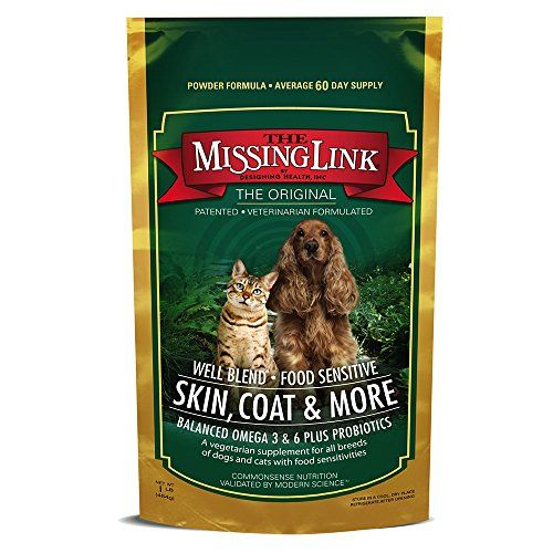 The Missing Link Well Blend All Natural Vegetarian Omega Superfood Dog Cat Supplement Healthy Skin Vegetarian Skin Cat Supplement Nutritional Supplements