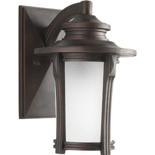 Progress Lighting P5981-97 Pedigree Collection 1-Light Wall Lantern, Autumn Haze by Progress Lighting. $151.20. Welcome your guests with a Craftsman inspired light that features a modern profile and an etched glass diffuser. Constructed of durable materials for years of enjoyment. This fixture uses a compact fluorescent bulb for superior energy performance and low-mainteance reliability. Open bottom design allows for easy access to change bulb.