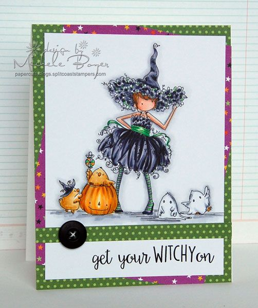 Featuring Stamping Bella's Willow The Witch SKU 449168, available at www.addictedtorubberstamps.com