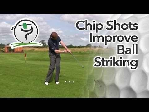 Chipping Drill for a Consistent Strike | Free Online Golf Tips