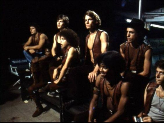 The Warriors cast waiting. Vermin, Cochise, Ajax ...