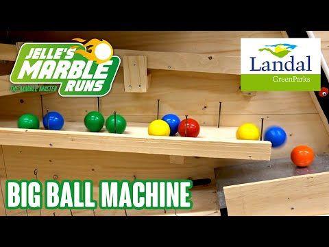 Big Marble Run At Landal Heideheuvel Youtube Marble Machine Marble Run Rolling Ball Machine