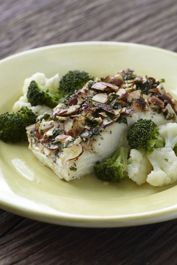 Fish fillets with almonds recipe almonds the o 39 jays for Fresh fish recipes