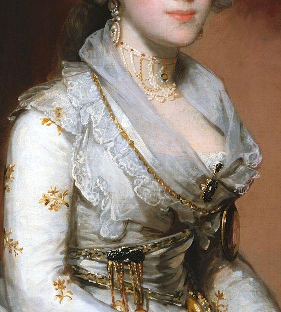 "the-garden-of-delights:  ""Matilda Stoughton de Jaudenes"" (1794) (detail) by…"