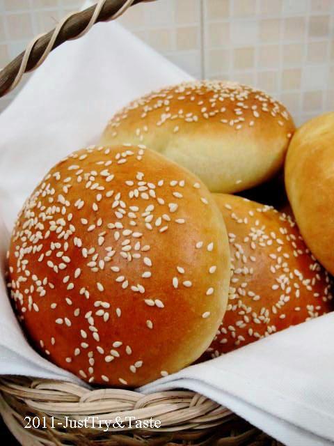 Obsesi Roti 10: Membuat Roti Burger - Burger Bun  Resep burger