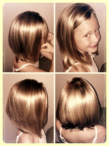 Astounding Kid Bobs And Kid Hair On Pinterest Short Hairstyles For Black Women Fulllsitofus