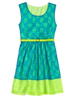justice for girls dresses | Lace Belted Dress | Girls Dresses ...
