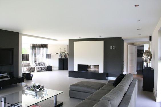 Mooie voorzetwand met haard echt een goed idee voor bij onze woonkamer idee n voor het huis - Onze mooie ideeen ...