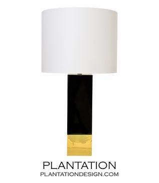 Lars Tall Lamp   Black