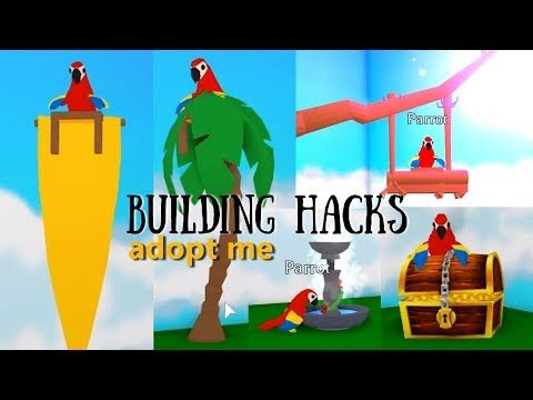 5 Custom Parrot Design Ideas Building Hacks Roblox Adopt Me