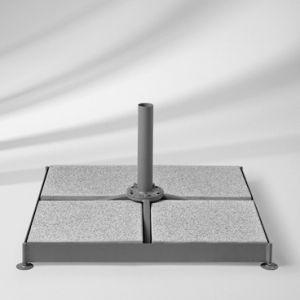Sockel M4, 180 kg, Stahl graphitgrau für Glatz Sonnenschirme