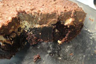 Triple Decker Brownies   Brownies and Cookie Bars   Pinterest ...