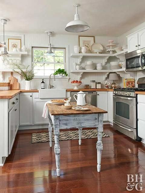 46 Best White Kitchen Cabinet Ideas And Designs In 2020 Small