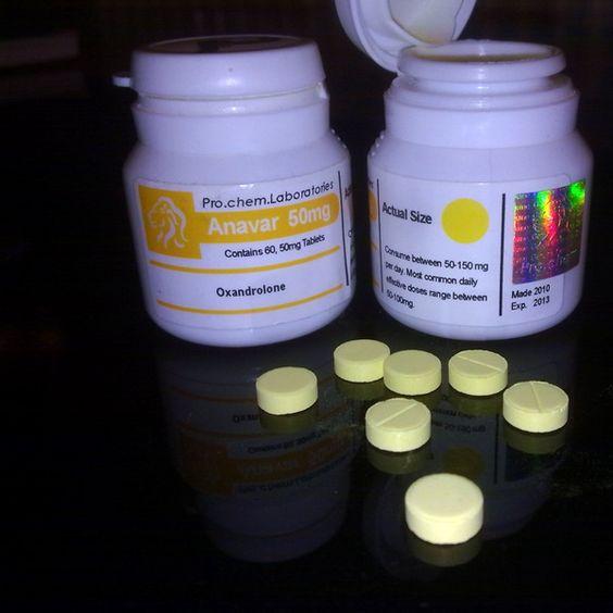50mg ProChem anavar tabs. | Pro Chem Anavar | Pinterest