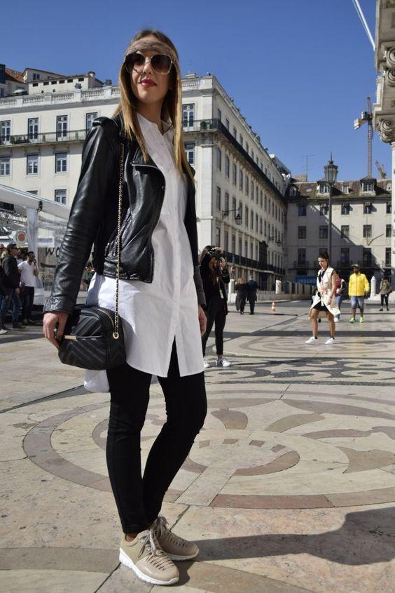 Street style no último dia da 46ª Moda Lisboa | SAPO Lifestyle