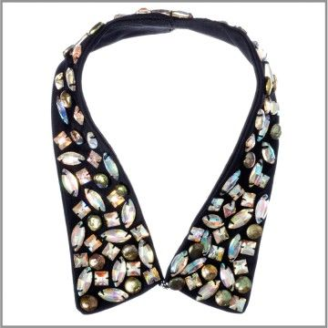 Very interesting - embellished collar, I like the stones