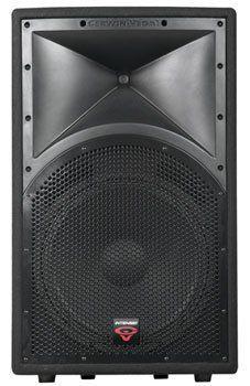 "Cerwin Vega Pro Int-152 Intense Series 15-Inch 2-Way Full Range Speaker by Cerwin-Vega. $299.00. 15"" WOOFER WITH A .25"" HIGH-TEMPERATURE VOICE COIL FREQ RESP: 50 HZ 20 KHZ PEAK POWER HANDLING: 600W PROGRAM POWER HANDLING: 300W NOMINAL IMP: 8? SENSITIVITY: 98 DB @ 1W/ 1 M CROSSOVER FREQ: 2 KHZ CONNECTIONS: 2 X .25"" PHONE NEUTRIK SPEAKON  EACH"