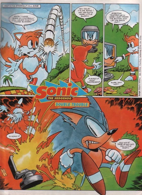 Sonic the Comic - Issue #013 - Comics - Sonic SCANF