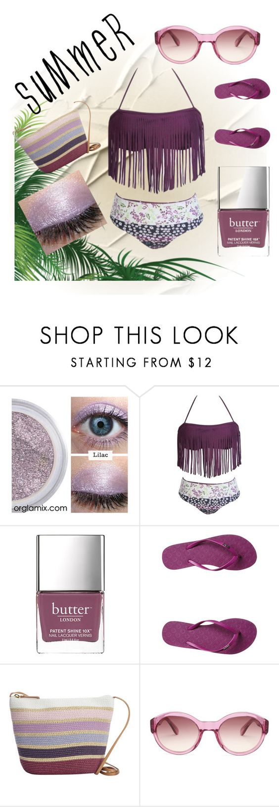 """Summer Suit"" by numeangeleyes ❤ liked on Polyvore featuring Butter London, Roxy, Magid and Ted Baker"