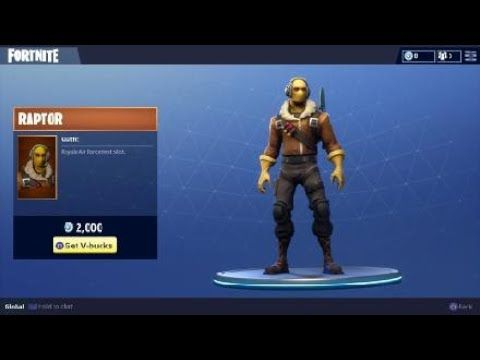 Raptor Outfit Featured Fortnite Battle Royale Character Fortnite Battle Royale Video Game Fortnite Battleroyale Fnbr Fortnite Battle Games